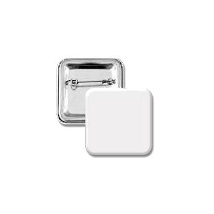 35×35 mm szögletes kitűző