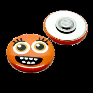 32 mm kerek mágneses kitűző